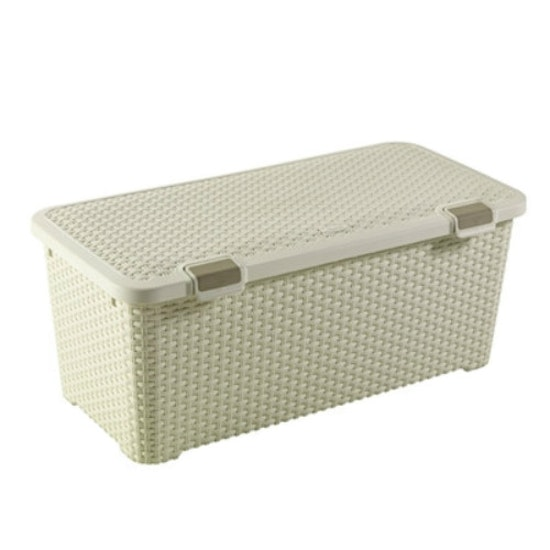 Curver - Style Box with Lid 72L - Off White