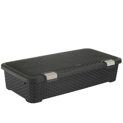 Style Roller Box 42L - Dark Brown - Image 1