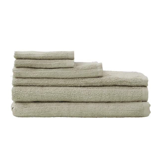 EVERYDAY Bath Essentials - Taupe (Set of 6) - 0