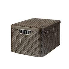 Style Box V2 + Lid - Dark Brown