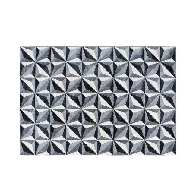 Jemma Low Pile Rug 1.9m x 1.3m - Kaleidoscope - 0
