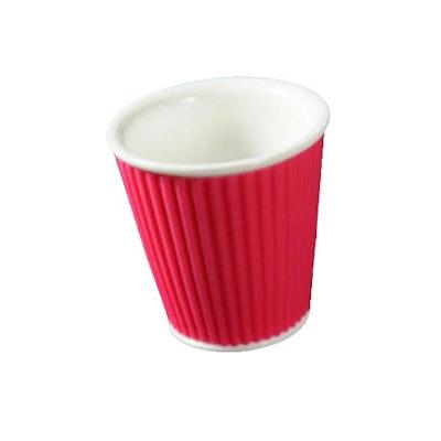 Espresso Cup - White/Rose - Image 1
