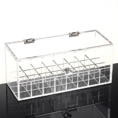 Acrylic Lipstick and Nail Polish Storage Box