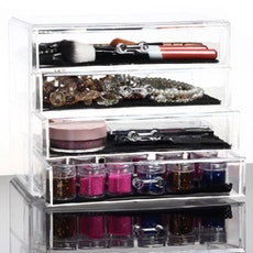 4 Slim Drawer Vanity Organizer