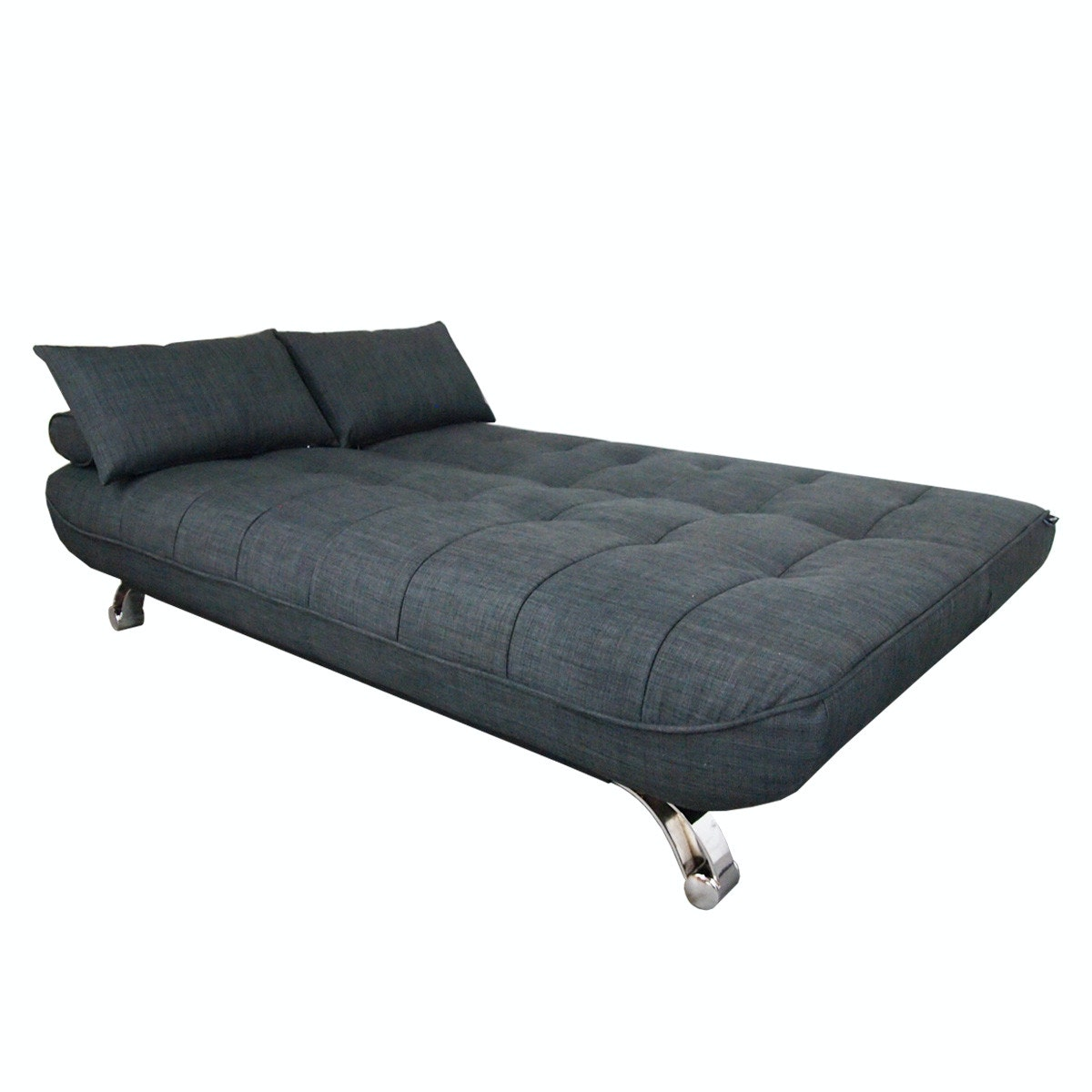 Clifford 3 Seater Sofa Bed   Grey   Image 2 ...