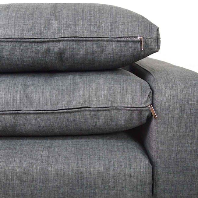 Aikin 2.5 Seater Sofa Bed - Grey - 4