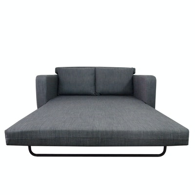 Aikin 2.5 Seater Sofa Bed - Grey - Image 2
