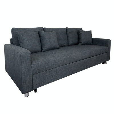 Vernon 3 Seater Sofa Bed - Grey
