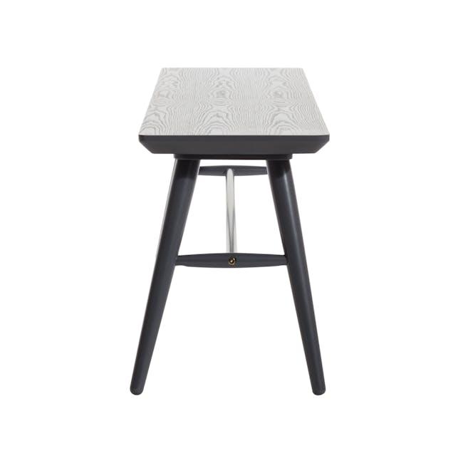 Marrim Bench 1.2m - Graphite Grey - 5