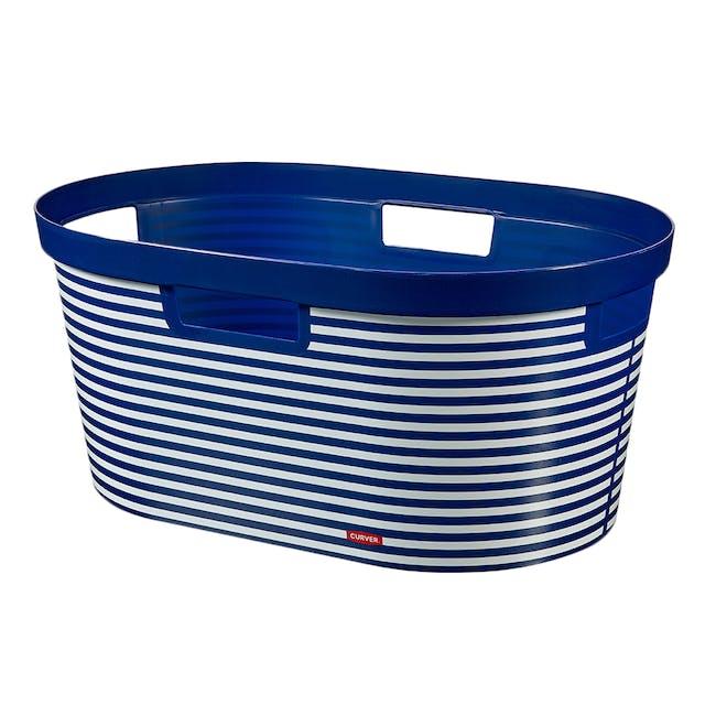 Infinity Laundry Basket - Blue Marine - 0