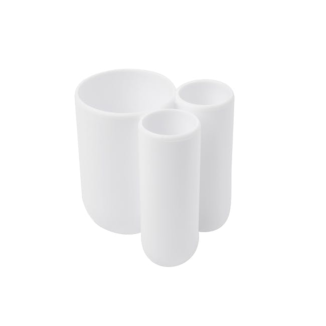 Touch Toothbrush Holder - White - 2