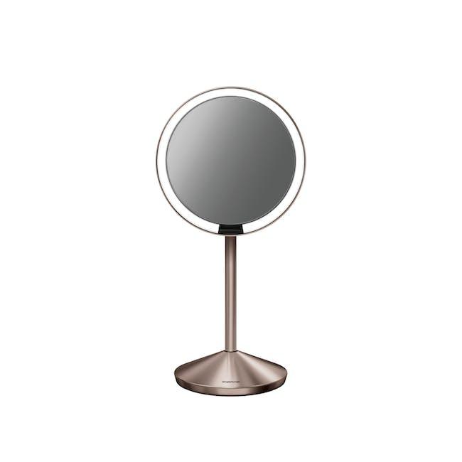 simplehuman Mini Sensor Mirror 5'' Round - Rose Gold - 0