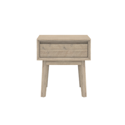 Leland Single Drawer Bedside Table - Image 1