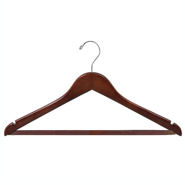 Wooden Hanger - Walnut - 0