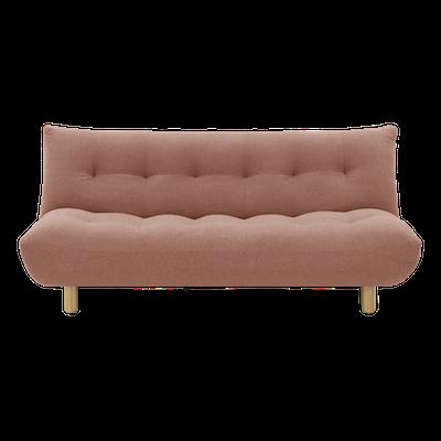 Aaron Sofa Bed - Blush - Image 1