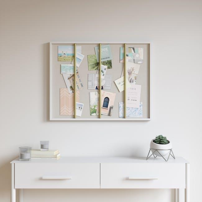 Tucker Wall Photo Display - White - 2