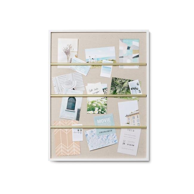 Tucker Wall Photo Display - White - 0