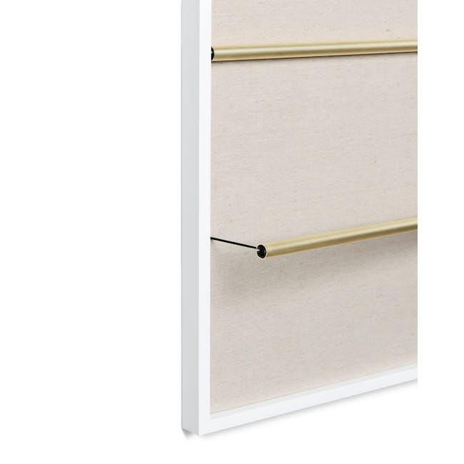 Tucker Wall Photo Display with Poise 2-Tiered Tray - 9