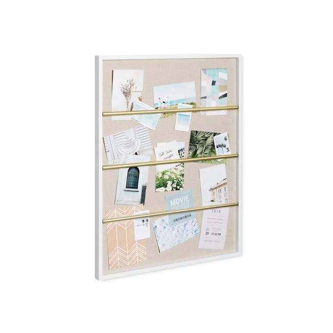 Tucker Wall Photo Display with Poise 2-Tiered Tray - 5