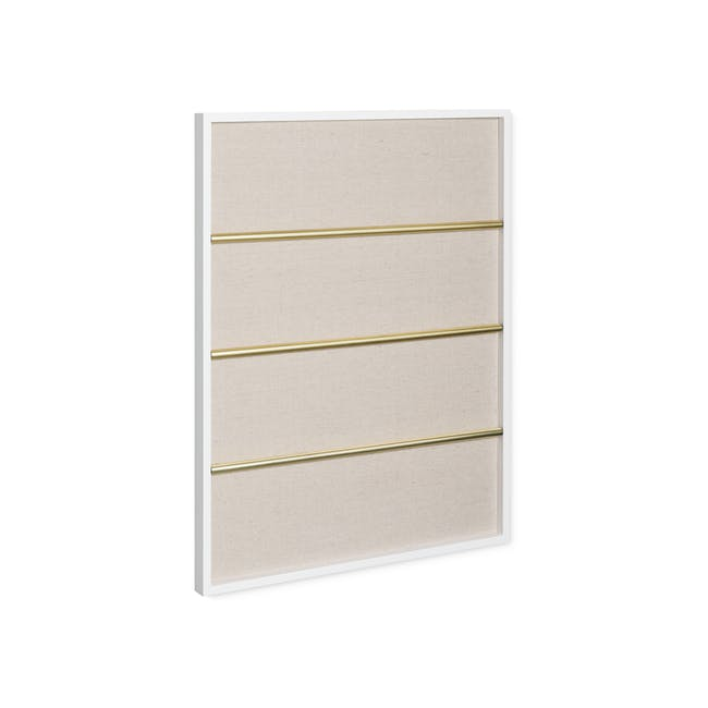 Tucker Wall Photo Display with Poise 2-Tiered Tray - 6
