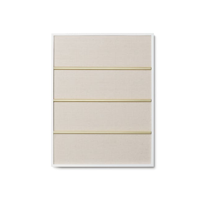 Tucker Wall Photo Display with Poise 2-Tiered Tray - 7