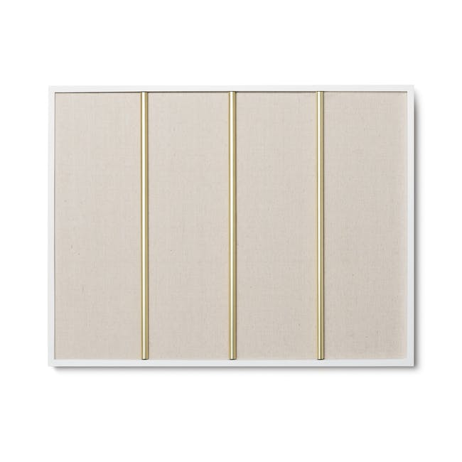 Tucker Wall Photo Display with Poise 2-Tiered Tray - 8