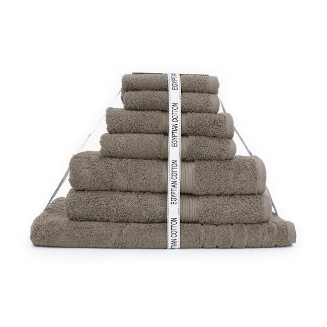Canningvale Egyptian Royale 7pc Towel Set - Porcini - 0