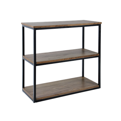 Brittany 3-Tier Shelf - Walnut - Image 2