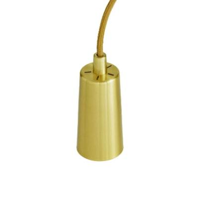 Drop Cap Pendant Set - Brass