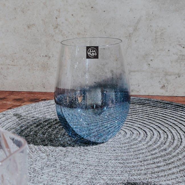 Table Matters Taikyu Luster Glass 530ml - Blue - 2