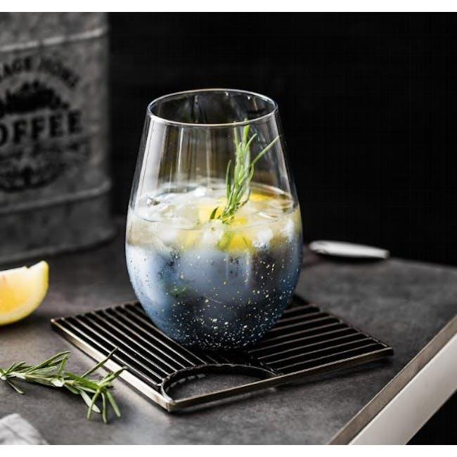 Table Matters Taikyu Luster Glass 530ml - Blue - 1