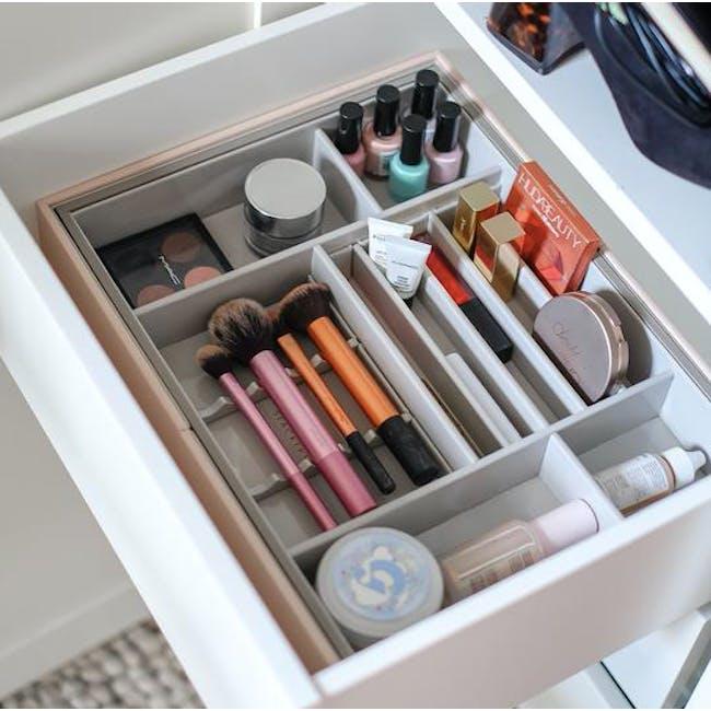 Makeup In-Drawer Organiser - Blush - 2