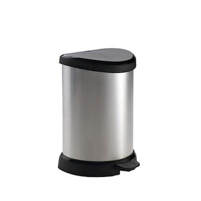 Deco Bin Pedal 20 L - Metallic