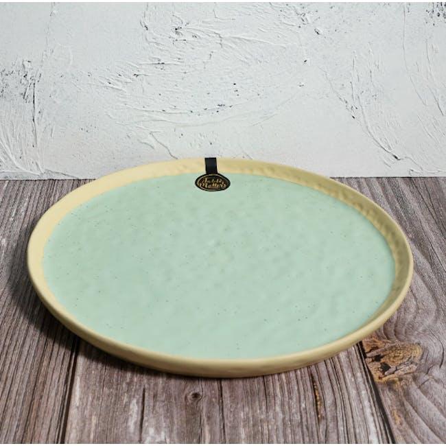 Table Matters Tsuchi Mint Dinner Plate - 2