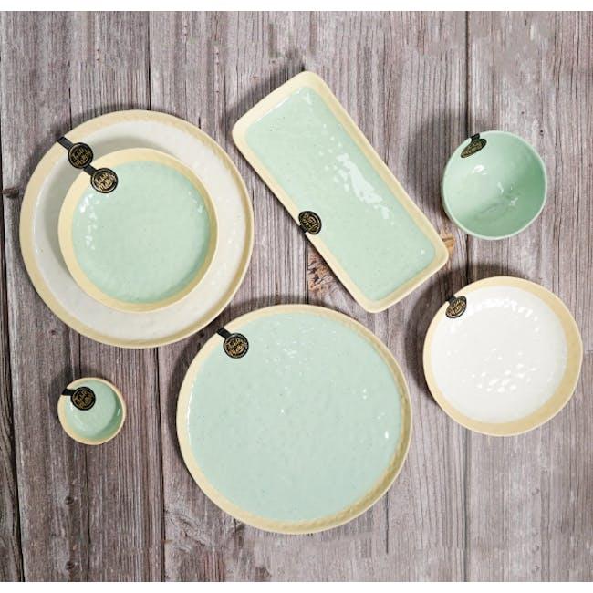 Table Matters Tsuchi Mint Dinner Plate - 1