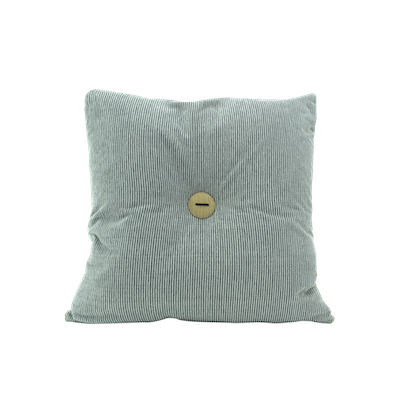 Distintivo Square Cushion - Carol, Down Feathers (Crash Fabric) - Image 1