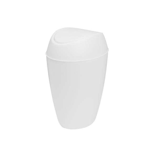 Twirla Waste Can - White - 0