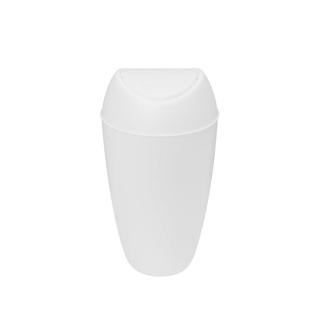 Twirla Waste Can - White - 4