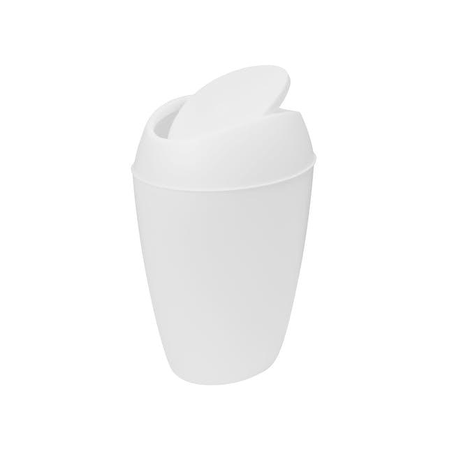 Twirla Waste Can - White - 1