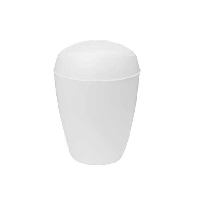 Twirla Waste Can - White - 2