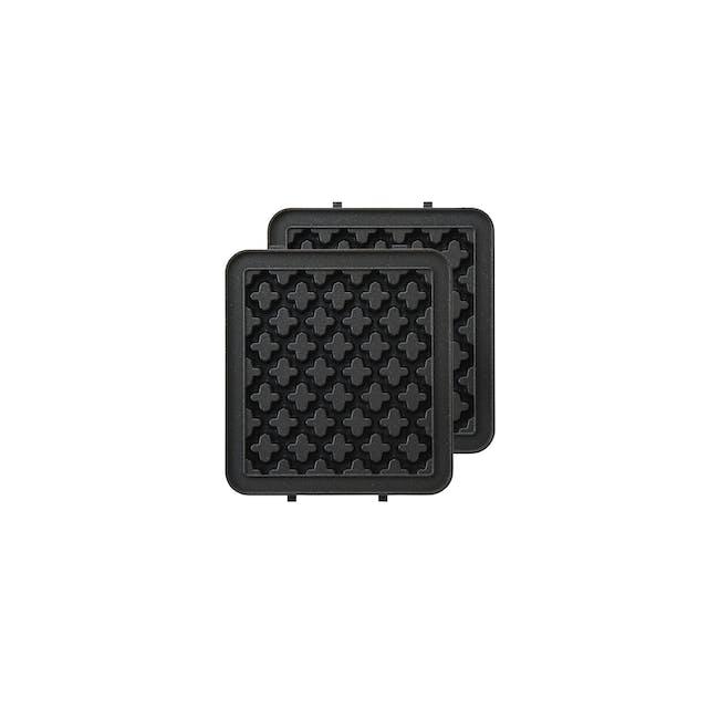 BRUNO Single Hot Sand Maker - Waffle Attachment - 0