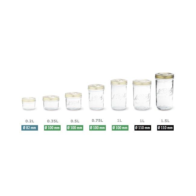 Familia Jar 1.0L - Narrow - 1