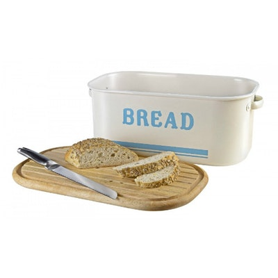 Jamie Oliver Bread Bin with Wooden Lid - Image 2