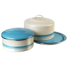 Jamie Oliver Tin Cake Container with Lid (Set of 2)