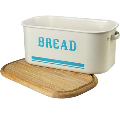 Jamie Oliver Bread Bin with Wooden Lid - Image 1
