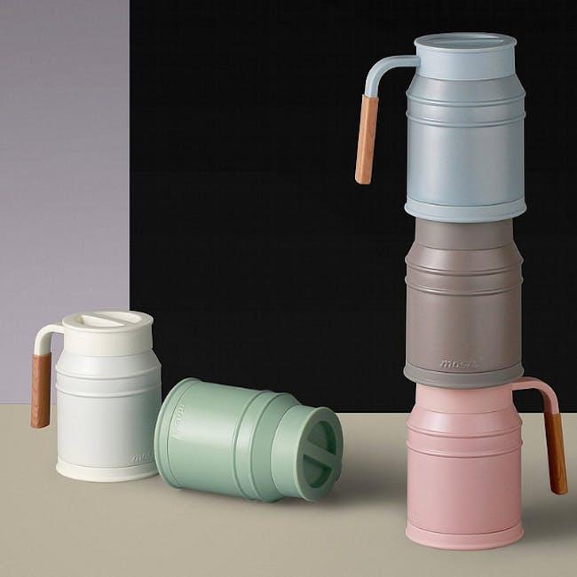 MOSH! Mug cup 400ml - Turquoise - 4