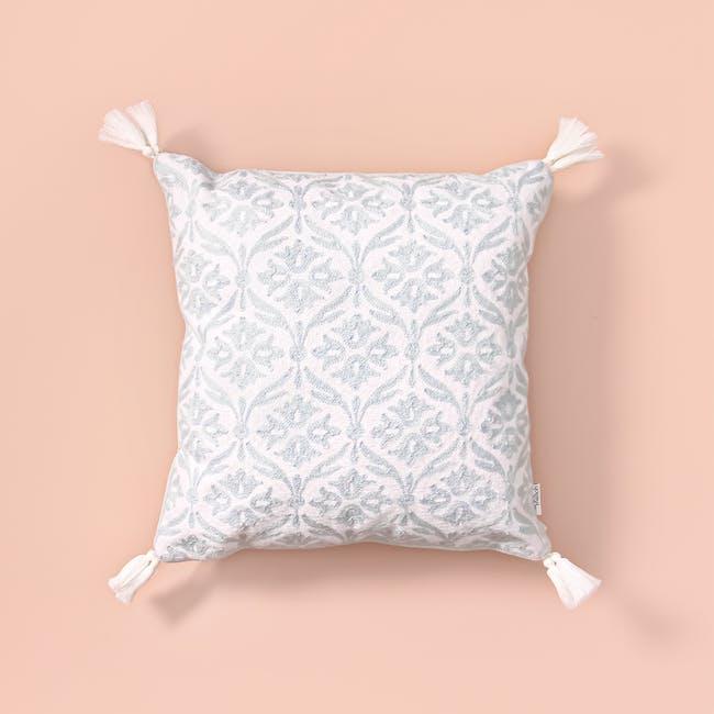 Ramsau in Winter Throw Cushion - 3