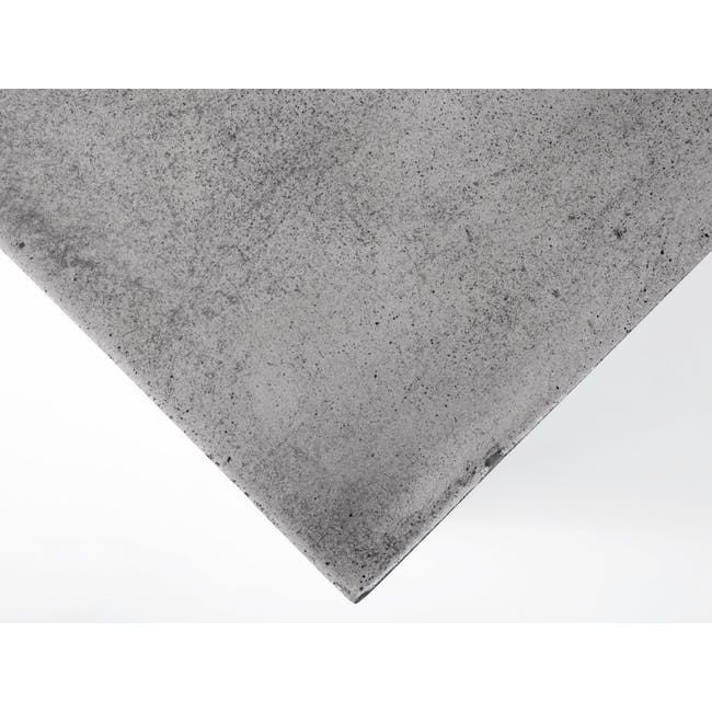 (As-is) Ryland Concrete Coffee Table 1.2m - 3 - 6