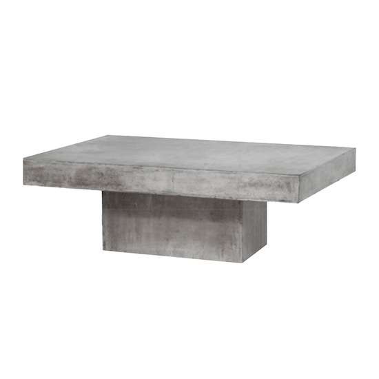 Concrete Furniture by HipVan - Ryland Concrete Coffee Table 1.2m