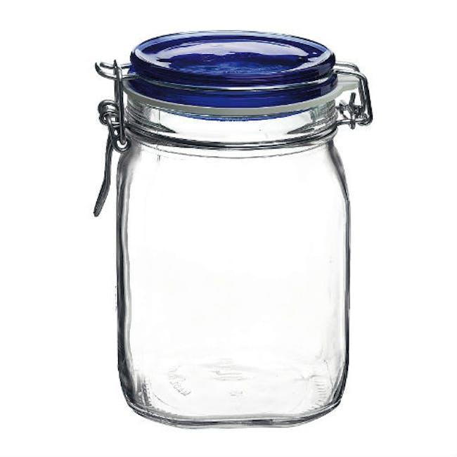 Fido Jar Herm 1000 - Blue Top - 1
